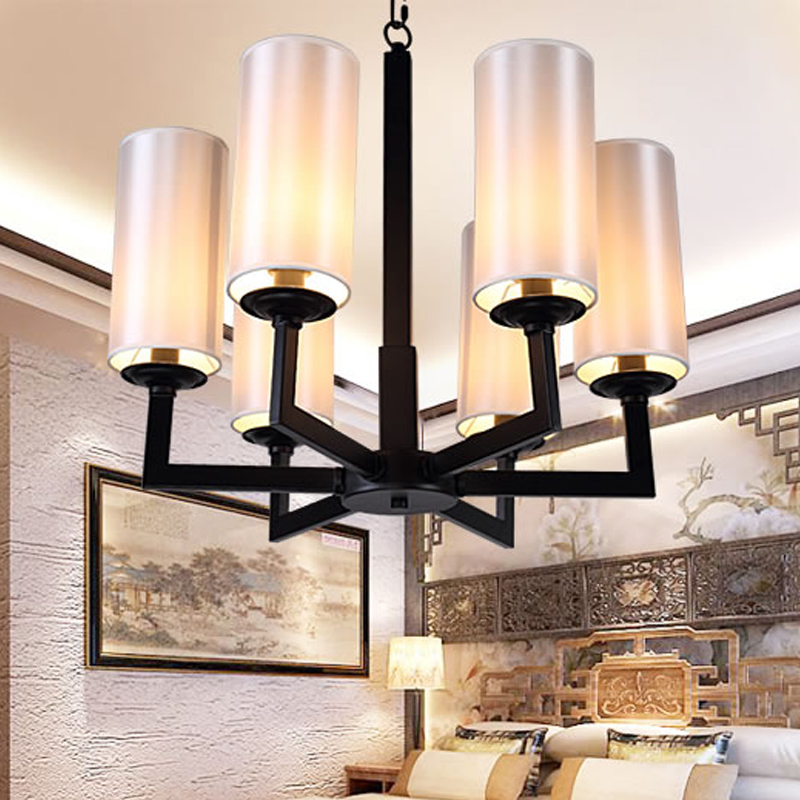 stage personalized art lamps Multiple Chandelier light simple new Chinese Style Lights living room creative baofeng uv 5rb walkie talkie dual band two way radio