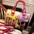 De las mujeres bolso de totalizador del Bolso braccialini Bolso sac à main borse di marca feminina bolsa de lujo mujeres de los bolsos diseñador