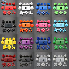 YuXi Set Completo Joystick Dpad R1 L1 R2 L2 Tasto di Direzione ABXY Bottoni jds 040 jds 040 Per Sony PS4 Pro controller sottile