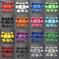 YuXi conjunto completo Joysticks Dpad R1 L1 R2 L2 dirección clave ABXY botones jds 040 jds-040 para Sony PS4 Pro slim controlador