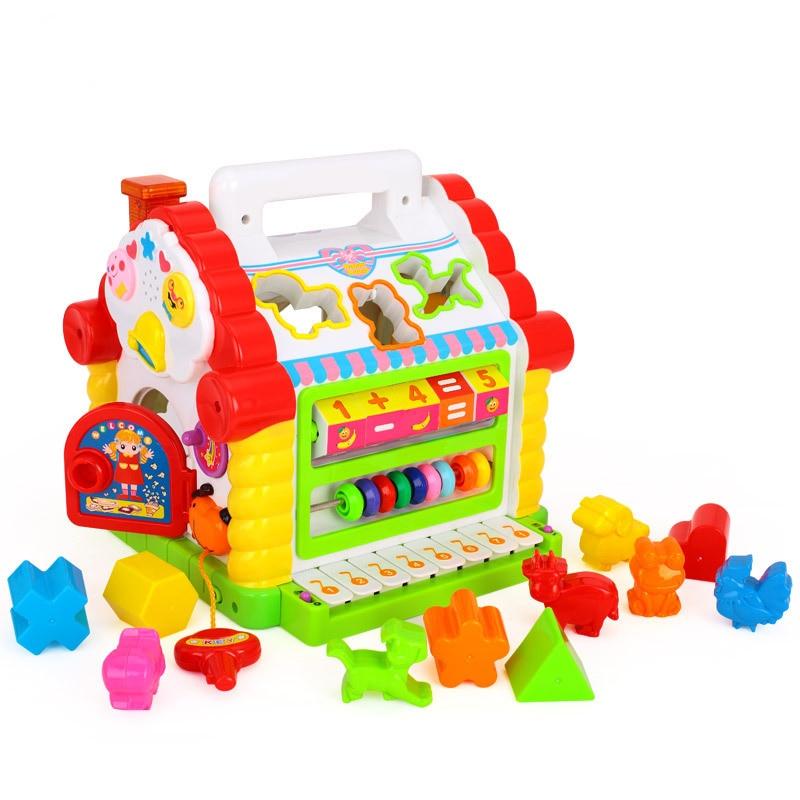 Divertido Musical electrónico multifuncional niños juguetes musicales para niños pequeños juguetes educativos regalos de música para el desarrollo de los niños aprendizaje - 4