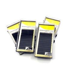Russia 0.07Thickness Premium Eyelashes 3d C/D Deep Black Eyelashes Individual Single Soft Eyelashes Volume Lashes Mink
