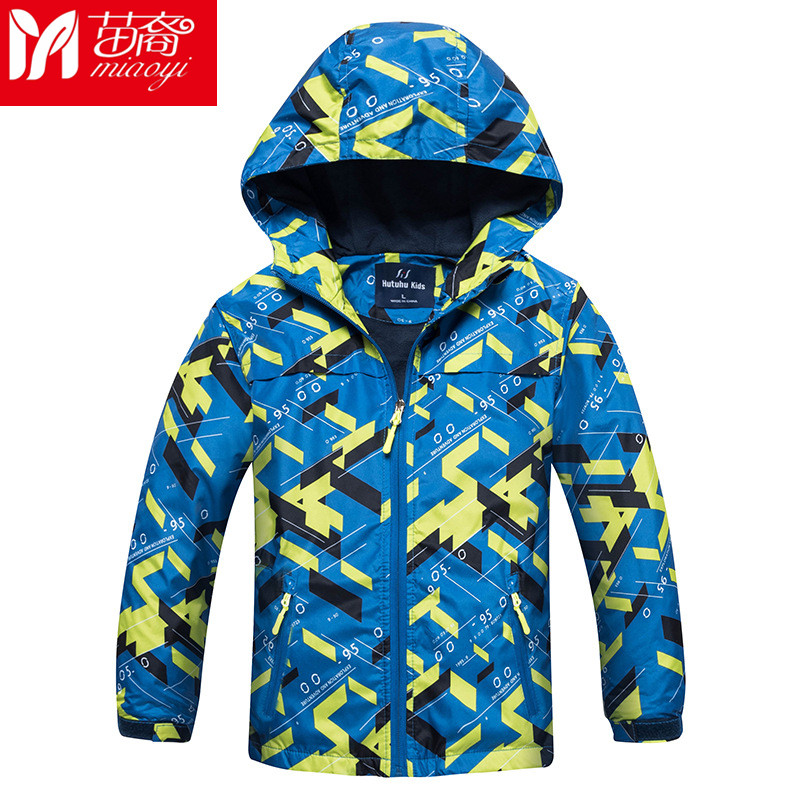 2 Pcs Kids Winter Baby Boy Jacket Coat Fleece Interchange Clothes Parka Waterproof Windbreaker Children hiking Jackets For Boys boys fleece jackets solid coat kid clothes winter coats 2017 fashion children clothing