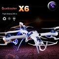 Caja Original Tarantula X6 profesional drones 4CH RC quadcopter con la cámara HD drone RTF 2.4 GHz juguetes eléctricos envío gratis