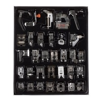 32pcs Domestic Sewing Machine Presser Foot Feet Kit Set With Box For Brother Singer Janom