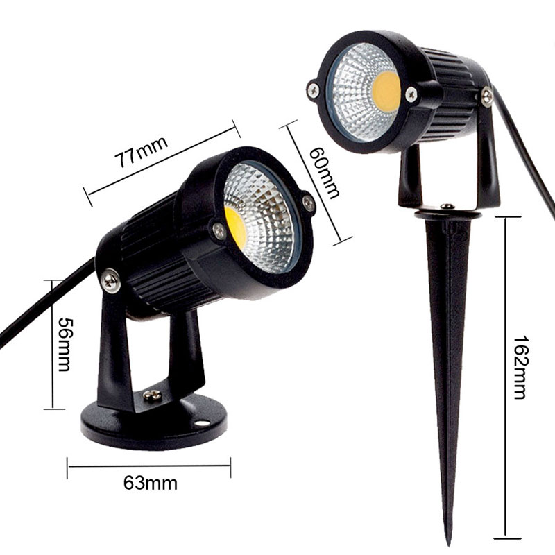 DC 9W Waterproof Lights LED Lawn Lamp DC12V Landscape Spot Light IP65 12 V Outdoor Lighting Lamps Spike Light For Garden