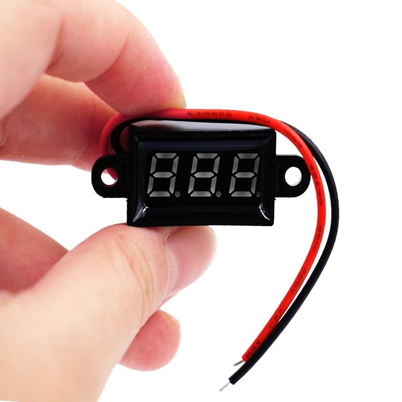 voltmetro hidroizoliacinis smūgis, atsparus smūgiams 3,5–30 V - Matavimo prietaisai - Nuotrauka 2