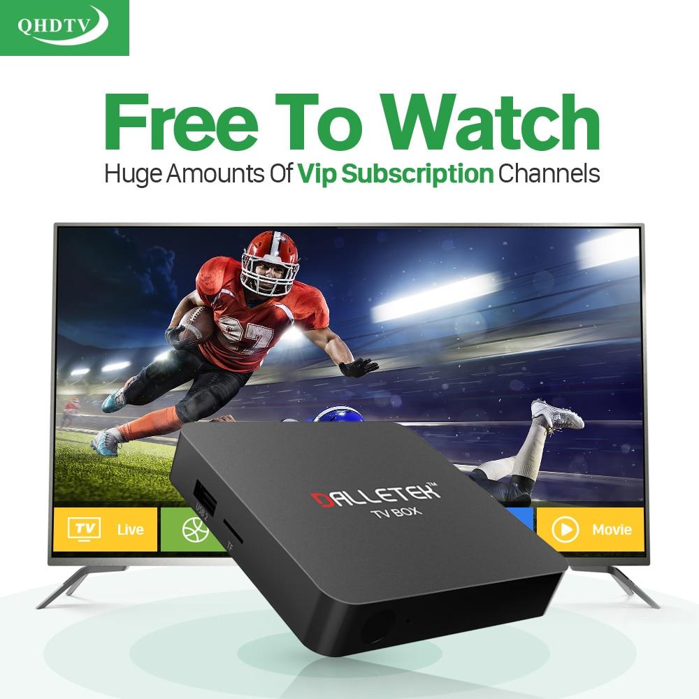 Smart IPTV Box S1 Android TV Set Top Box 1G+8G Media Player with HD IPTV Europe Arabic IUDTV QHDTV Subscription 1 year French UK цена 2016