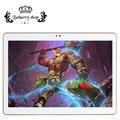 2017 El Más Nuevo de 10.1 pulgadas Tablet PC 4G LTE Quad Core 2 GB RAM 16 GB ROM Android 6.0 IPS GPS 5.0MP WCDMA 3G de la Tableta pc + teclado