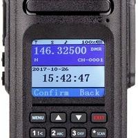 """מכשיר הקשר שני 2pcs Retevis Ailunce HD1 DMR Dual Band דיגיטלי שני הדרך רדיו מכשיר הקשר 10W IP67 GPS VHF UHF Ham Radio אמאדור Hf מקמ""""ש (5)"""