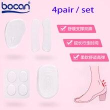 4pairs set Women high heel insoles gel insoles flip flop insoles foot pain relieve insoles