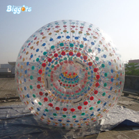 Outdoor Toys PVC Giant Inflatable Walking balls Ground Zorb Ball Human Hamster Ball