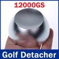 Super Golf Detacheur Segurança Tag Desacoplador Tag Golfe Desacoplador EAS Removedor Tag Magnética Intensidade 12, GS Cor Prateada