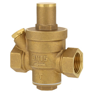 "Image 4 - DN15 1/2"" Reducing Regulator Valve Brass Water Pressure Reducing Regulator Valve Adjustable Thread Water Pressure Reducing Valve"