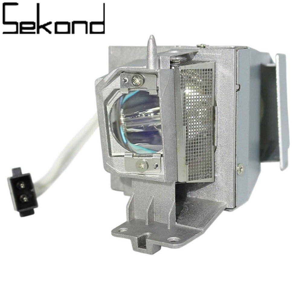 SEKOND 100% Original Osram bulb SP.8VH01GC01 Projector Lamp w/housing for OPTOMA GT1080 HD141X HD26 DH1008 DS345 GT1070X S315 sekond original osram bulb bl fp230d sp 8eg01gc01 projector lamp with housing for optoma hd20 hd200x eh1020 tx612 hd180 ex612