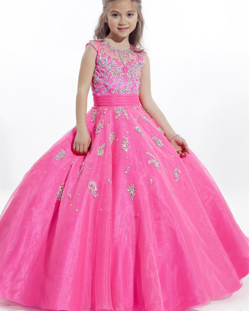 Popular Pageant Dresses Girls Size 14-Buy Cheap Pageant ...