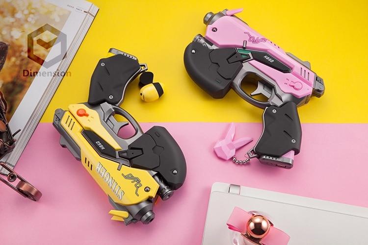 D. va cosplay accessoires pistolet modèle 8000 mAh batterie externe USB chargeur