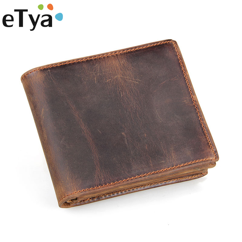 Genuine Leather Men Wallets Super Thin Vintage Leather Purse Men Short Small Wallet Card Purse Male Multi-Functional Coin Purse westal genuine leather men wallets leather man short wallet vintage man purse male wallet men s small wallets card holder 8866
