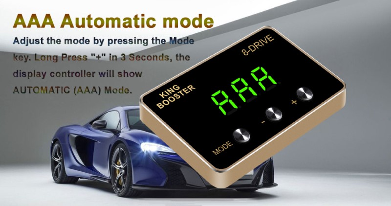 AAA car throttle controller 8D