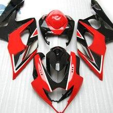 Пользовательский комплект обтекателей для Suzuki GSXR 1000 2005 2006 GSXR1000 K5 K6 дорожный гоночный обтекатель комплект 05 06 GSX R1000 красный черный послепродажный