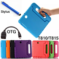 Stylus+OTG+Kids Shock Proof Case Cover For Samsung GALAXY Tab S2 9.7 T810 T815 Tablet Handbag Perfect Safe case