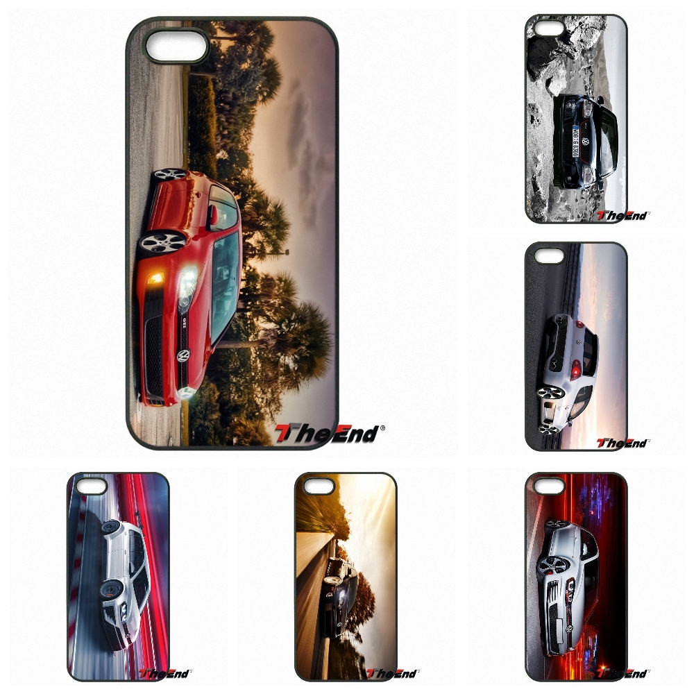 Volkswagen Golf Gti Car Wallpaper Mobile Phone Case Cover For Apple
