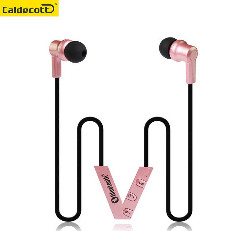 Sport Wireless Bluetooth Headset Collar Clip Earphone With Microphone Stereo Music mini Portable Handsfree earphone garnish clip music clip staff page clip with music pattern