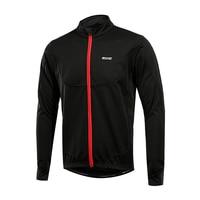 Зимние теплые до Для мужчин Велоспорт куртка Велоспорт Джерси дышащий Велосипедный Спорт Костюмы ветрозащитный спортивное пальто MTB велос...