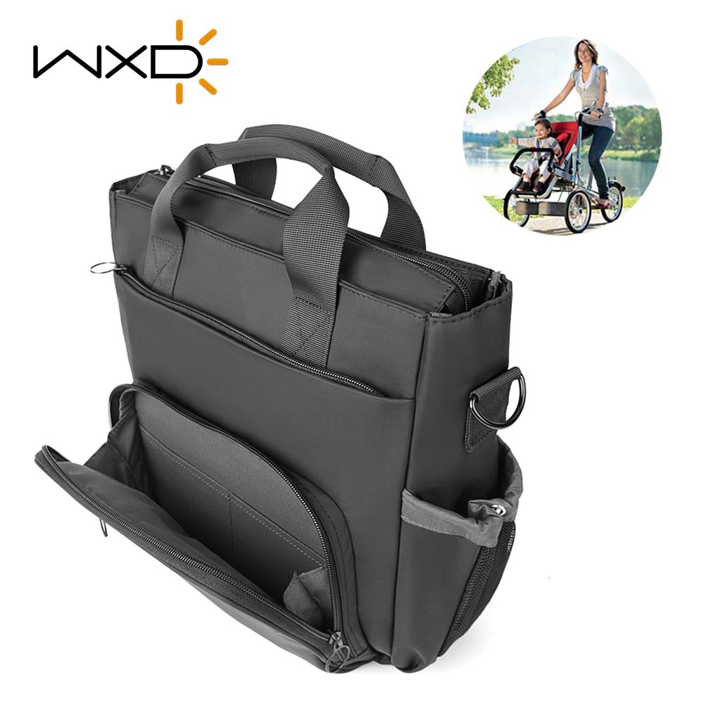 WXD Baby Stroller Bags Organizer Multifunction Diaper Bag Waterproof Mom Travel Bag For Maternity Baby Care Stroller <font><b>Accessories</b></font>