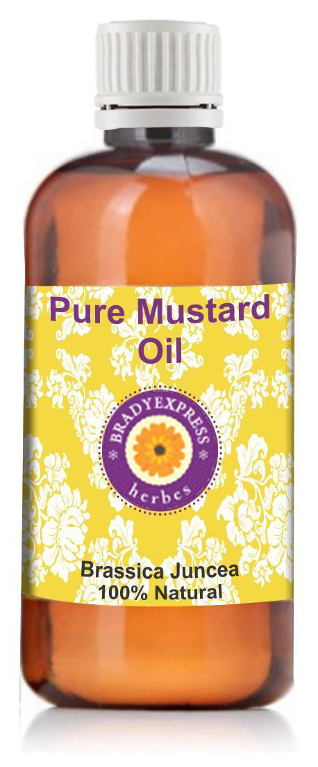 FRee Shipping Pure Mustard Oil Brassica Juncea 100% Natural Cold Pressed Unrefined Therapeutic  5ML