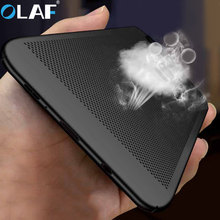 OLAF Luxury Heat Dissipation Case For Samsung Galaxy S9 Plus A3 A5 A7 J3 J5 J7 2016 2017 A8 2018 Cover J8 J6 J4 A6 Cases shell