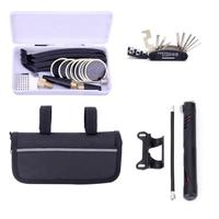 1 Set Bicycle Repair Multi Tool Kit MTB Mini Tyre Pump Accessory bike tools repair kit for a bicycle bisiklet aksesuar 2018 A20