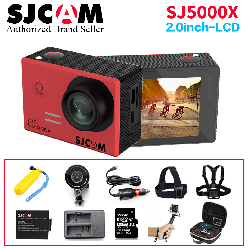 SJCAM SJ5000X Elite Action camera Ultra HD 4K 24fps 2K 30fps Gyro WiFi underwater waterproof Helmet SJ 5000 X camera Sport cam