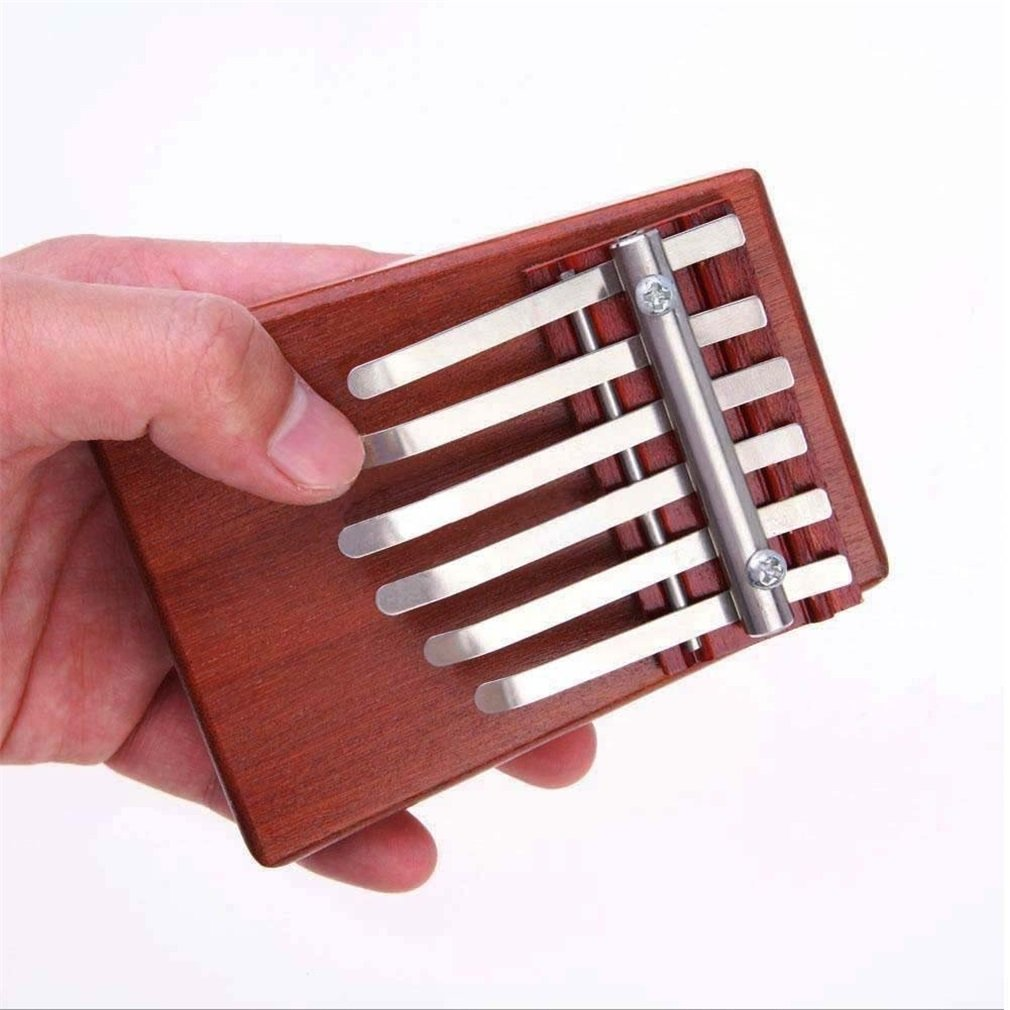 8 touches Kalimba Mbira Likembe Sanza Doigt Pouce Piano Palissandre Instrument Dans Le Monde Entier vente main piano instrument