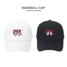 Off Letter Embroidery Baseball Cap Cotton Hat Fashion Men Women Black White