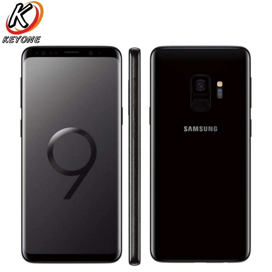 "New Samsung Galaxy S9 G960F-DS 4G LTE Mobile Phone 5.8"" 4GB RAM 64GB/128GB ROM Android 8.0 IP68 waterproof dustproof NFC Phone"