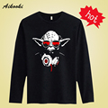 Star Wars Master Long Sleeve Cotton T shirt Men Funny with T-shirt Men Famous Brand in Soft Cotton Tees and Tops ssx-3xl aikooki