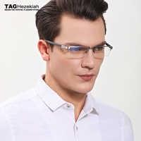 glasses frame TAG Brand eyeglasses frames men women T0882 Half frame computer glasses prescription glasses optical glasses frame