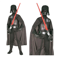 Star Wars Darth Vader Anakin Skywalker Jedi Knight Kids Clothing Cloak Cosplay Children Halloween Carnival Party