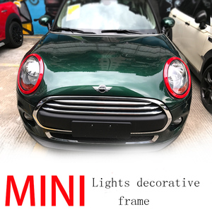 Image 3 - Taillight Trim Sticker For Mini Cooper F55 F56 Rear Tail Lights Head Lamps Rims Protective Covers Decoration Car Accessories