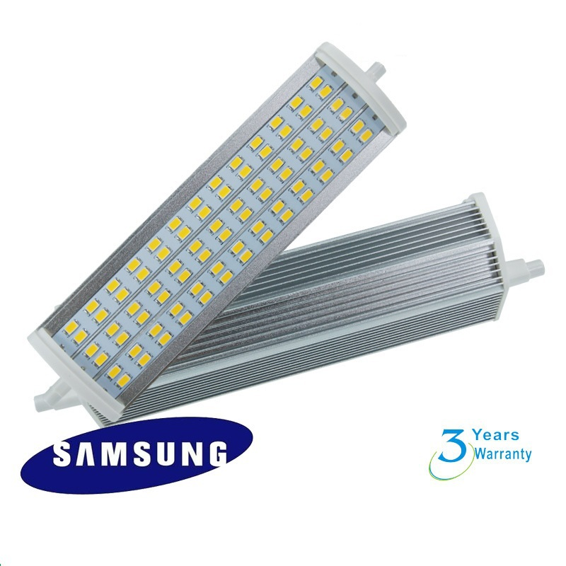189mm 23W LED R7S light 78pcs samsung SMD5730  flood source AC85-265V 3 years warranty