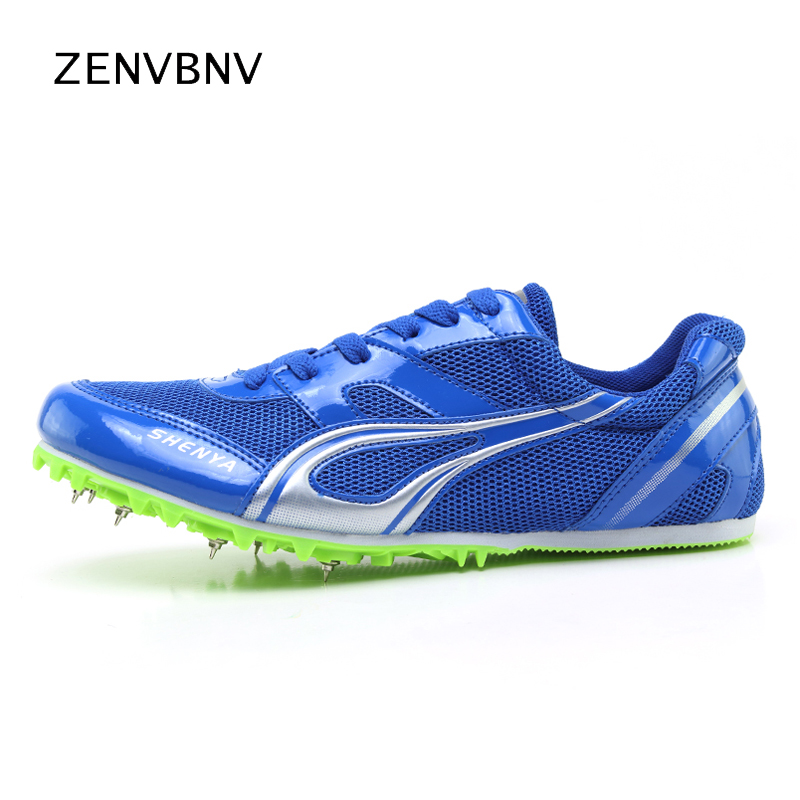 Enthusiastic Unisex Spikes Trainers Athletics Spring Autumn Tracking Sneakers Black Green Running Shoes Men Comfortable Women Field Shoes Men Running Shoes