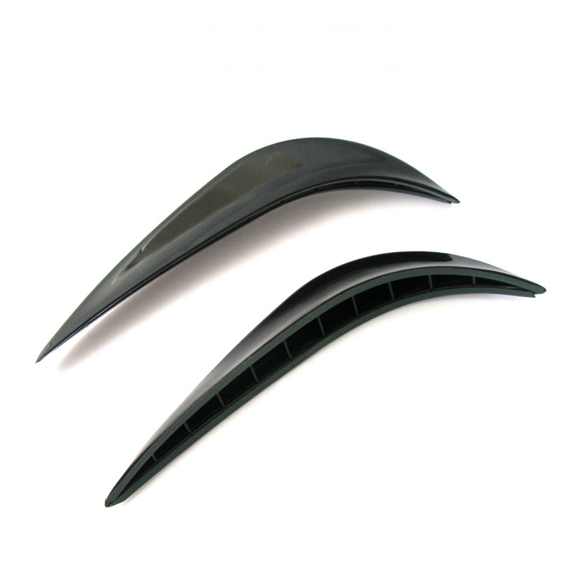 1 Pair Car Refitting Wind Deflector Air Vent Car Styling Exterior Accessory Decoration Stickers Auto Accessory for Amg ford kia