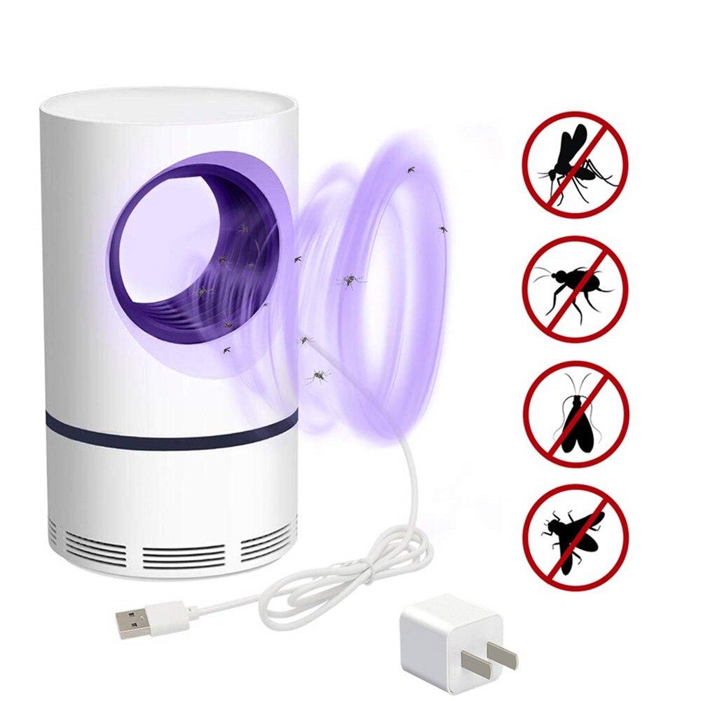 USB убийца лампы электрические комаров вредителей Управление наклейка от комаров Fly Trap светодиодный свет лампы Жук Насекомое Отпугиватель ...