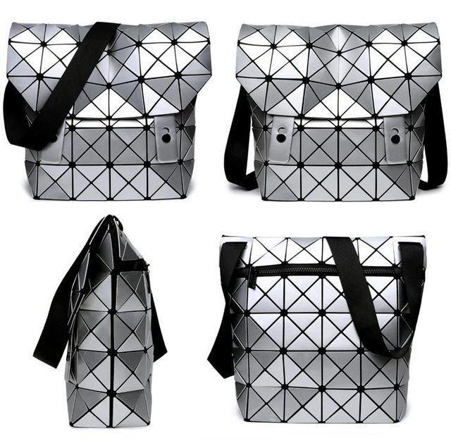 ef4bb018e4e2 2016 New Japan Brand baobao bag Shoulder Messenger Bag Mirror Saser Plain  Split Joint Mujer Shoulder Bags Large Top Handle Tote