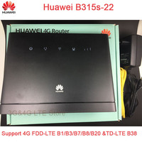 Desbloqueado Huawei B315s-22 150 150mbps CAT4 4G cpe router wifi 3g 4g B593 CPE Router inalámbrico 4G mifi WiFi PK e5172 b315 e5186