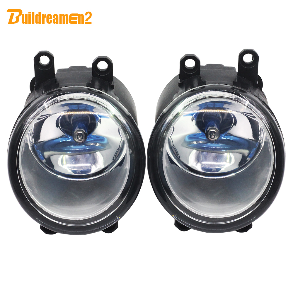 Buildreamen2 For Toyota Estima Tundra IQ Urban Cruiser Allion Ractis 4Runner Avalon H11 100W Car Styling Halogen Fog Light 12V toyota allion premio модели 2wd