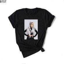 Ariana Grande Print vogue T shirt Women Sweetenr No Tears Le