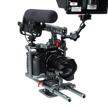Комплект для видеокамеры WARAXE GH4 GH4S GH5 GH5S Встроенная qr-пластина для Panasonic Lumix GH5 GH4 GH5S подходит для Arca Swis