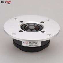 HIFIDIY LIVE 4 zoll X1II Hochtöner Lautsprecher Einheit aluminium transparente Seide membran 6OHM30W Höhen Lautsprecher silber 94 100 ~ 130mm